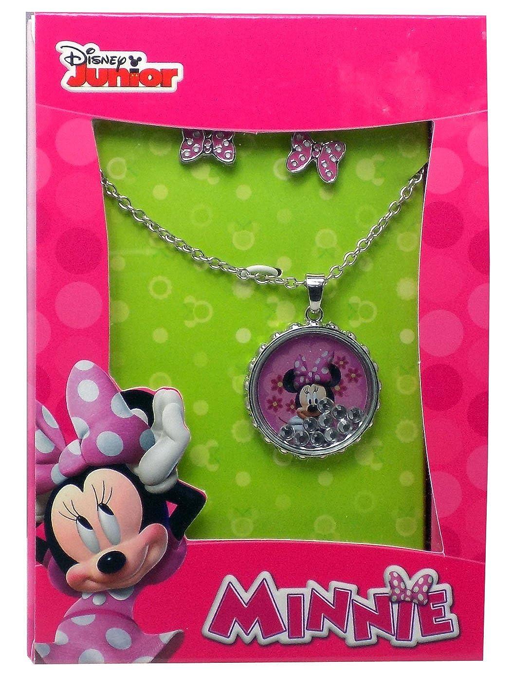 Disney Minnie Ohrring und Anhänger Set