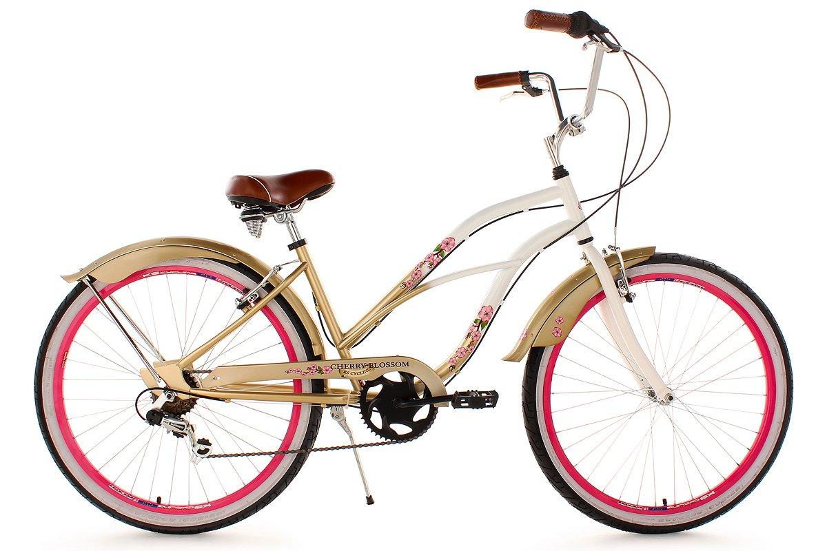 KS Cycling Damen Fahrrad Beachcruiser Cherry-Blossom RH 42 cm ...
