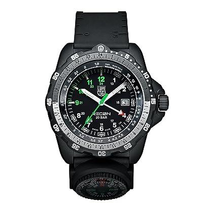 <strong>Luminox Men's A.8832.MI Recon Analog Display Quartz Black Watch</strong>