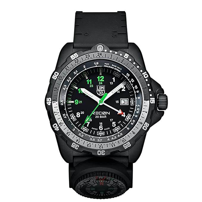 Luminox Men's Analog Display Quartz Black Watch