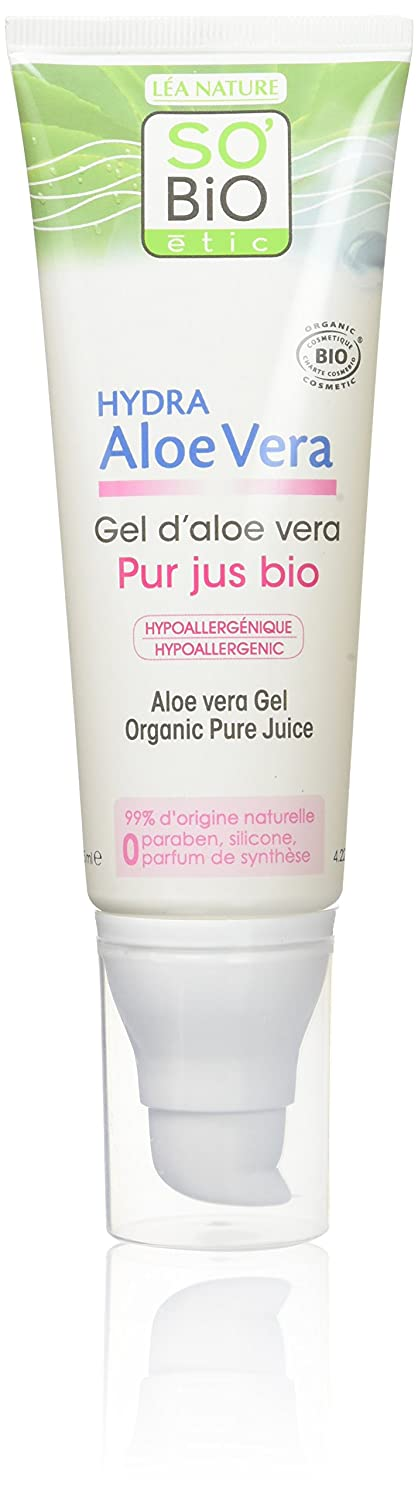 SO'BiO étic Gel Pur d'Aloe Vera 125 ml SO' BiO étic 3517360013757