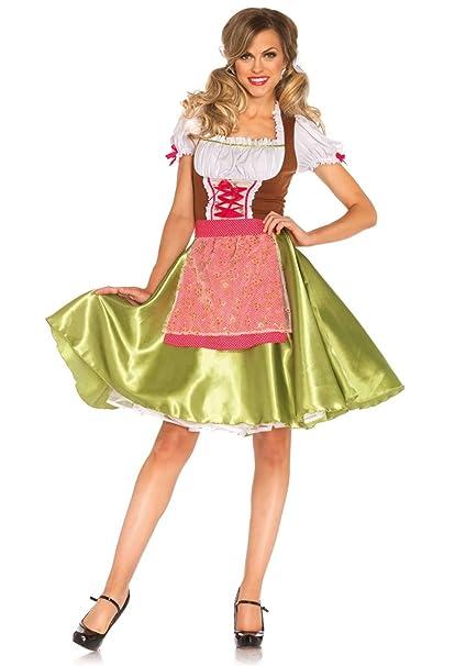 Leg Avenue Oktoberfest mujeres del traje de Darling Greta ...