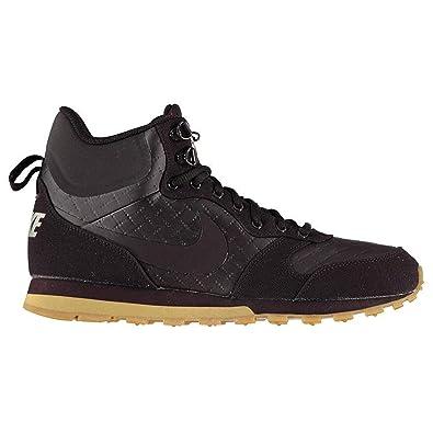 reputable site 5f9f6 98fa6 Nike MD Runner 2 Mid Prem, Chaussures de Randonnée Hautes Homme,  Multicolore Burgundy Ash