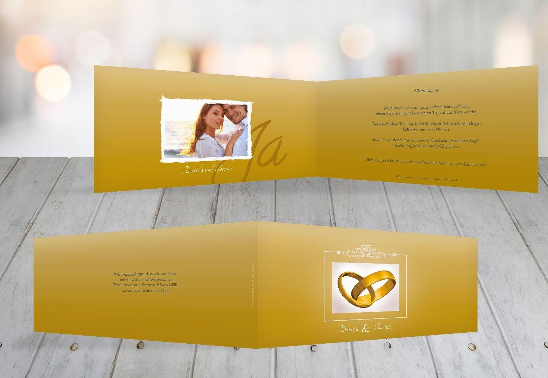 Kartenparadies Kartenparadies Kartenparadies Hochzeitskarte Hochzeit Einladung Din Ringetausch, hochwertige Einladung zur Heirat inklusive Umschläge   10 Karten - (Format  215x105 mm) Farbe  flamingoOrangerot B01NBWJZPN | Authentisch  | Qualität Produkt  | König der Quantität  9d737f