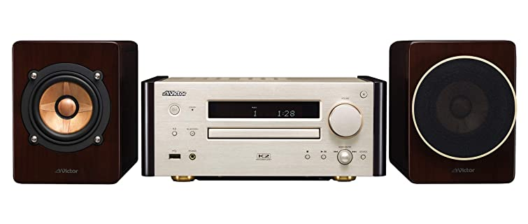 Victor コンパクトコンポ ハイレゾ音源再生/Bluetooth対応 ウッドコーンシリーズ EX-HR99