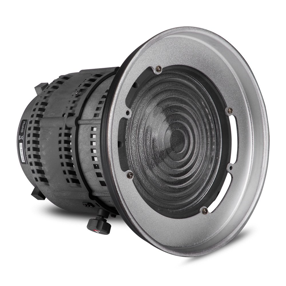 Aputure Fresnel Mount with Adjustable Lens Light-Shaping Tool for Aputure Light Storm COB 120T 120D and Other Bowens Mount Lights - 12 to 42° Beam Angle 14000lux@0.5M to 67000lux@0.5M by Aputure