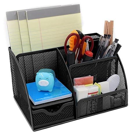 Schreibtischorganizer Stiftehalter Stiftebox Stifteköcher Stifte Halter Schul-Schreibtischzubehör