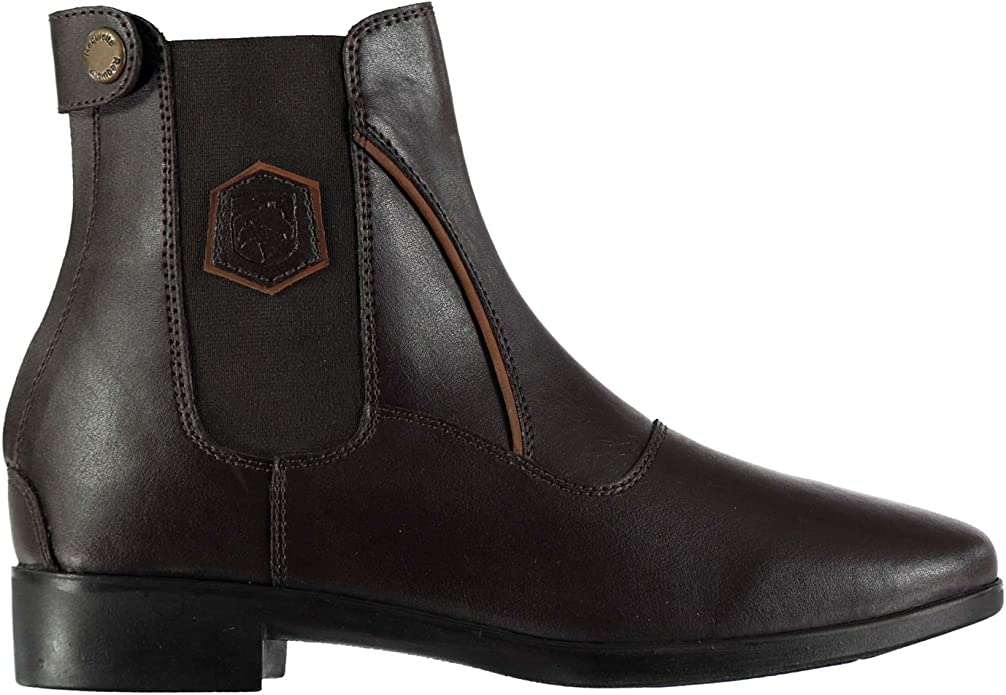 Requisite Womens Hereford Jodhpur Boots Yard Leather Upper