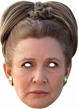 Rubie S Star Wars Pappe Maske Prinzessin Leia Karneval Fasching
