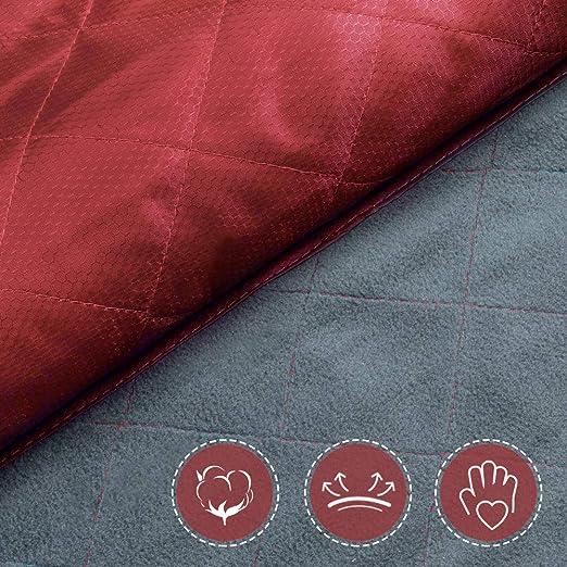 Manta de Camping Port/átil Forceatt Manta de Picnic Peque/ña Manta Impermeable Ultraligera de Bolsillo Acampar Picnic Yoga 140 cm * 200 cm Viajes al Aire Libre