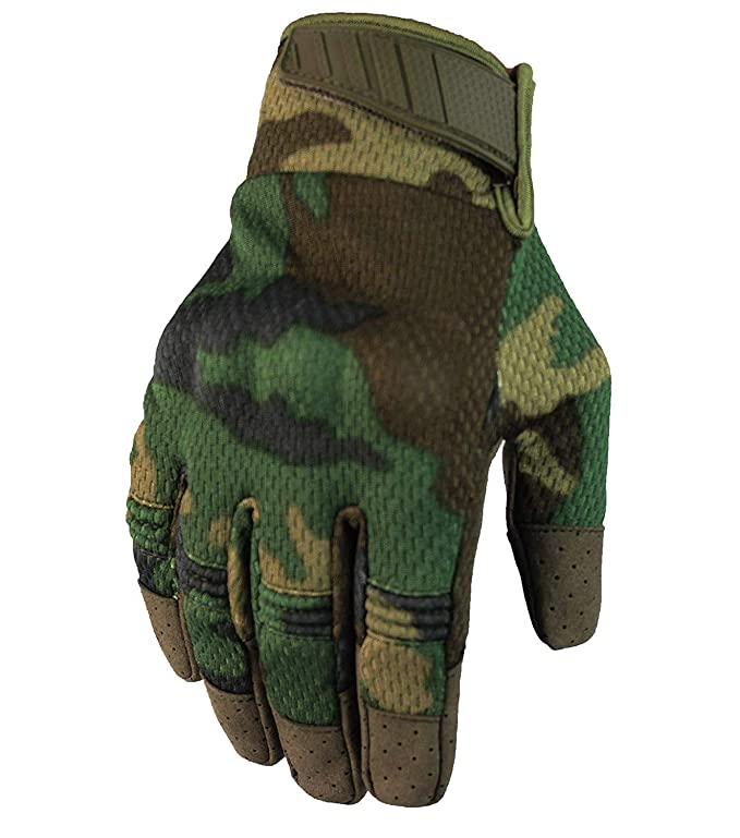 Fuyuanda Tactical Gloves Hard Knuckle Screen Touch Gloves for Military Shooting Cycling Riding Motorcycle Airsoft Paintball Gear