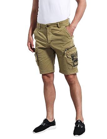 71a2c176dc EAGLIDE Men's Slim Fit Cargo Casual Shorts   Amazon.com