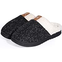 semai Home Shoes Slippers, Warm Comfy Indoor Shoes, Cozy Fluffy Soft Memory Foam Bedroom Slippers, Lightweight Anti-Skid…