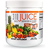 310 Nutrition, 310 Juice SUGAR FREE Daily Superfood and Cleanse with Probiotics, Only 15 Calories, 30 Servings