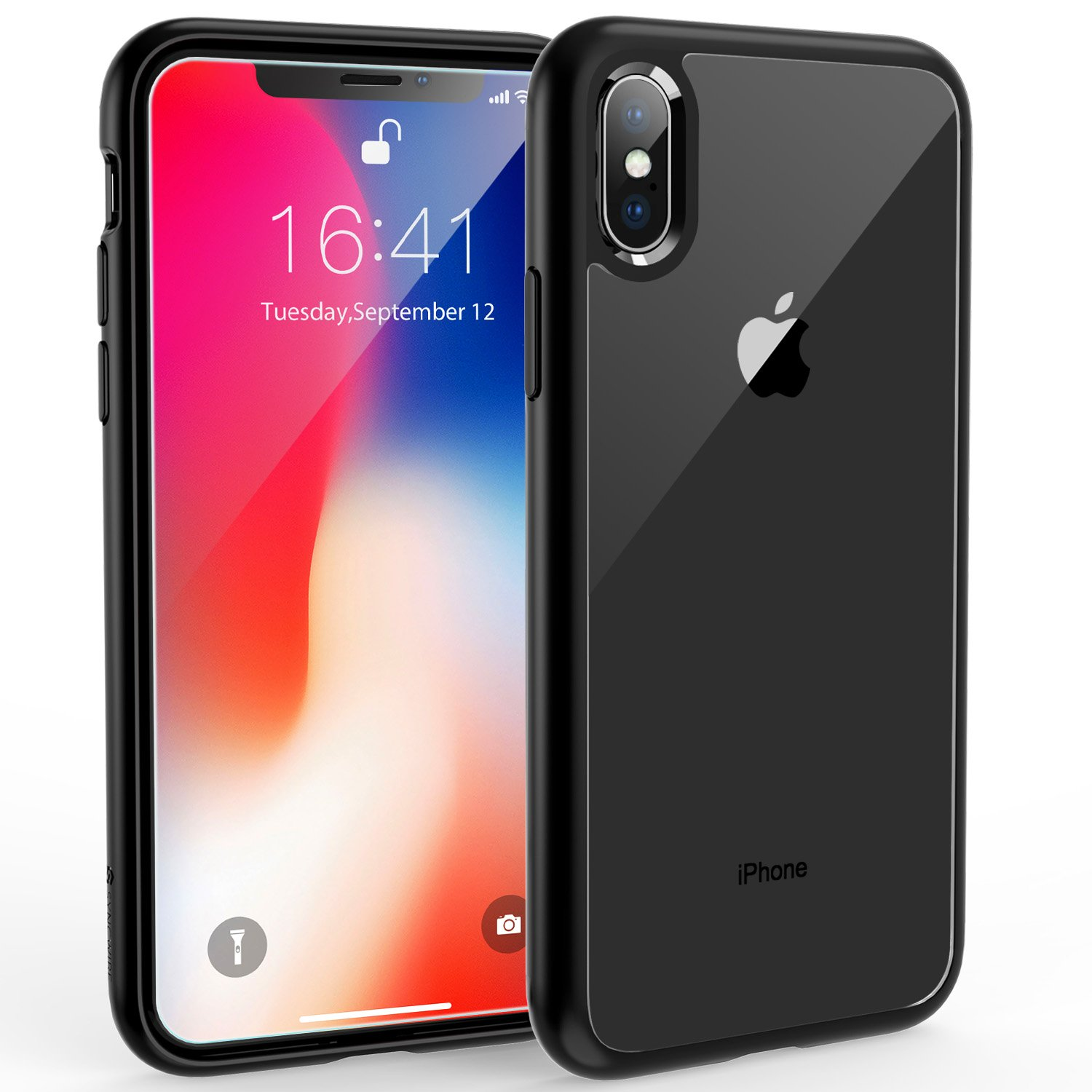 watch 206a9 b695c Syncwire UltraRock iPhone X Case, iPhone X Protective Cover with Advanced  Drop Protection and Air Cushion Safeguard Technology for Apple iPhone X/10  ...