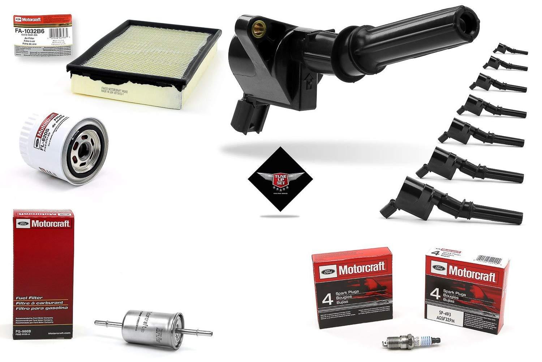 Amazon.com: Tune Up Kit 2001 Mercury Grand Marquis 4.6L V8 Ignition Coil DG508 Spark Plug SP493 FA1032: Automotive