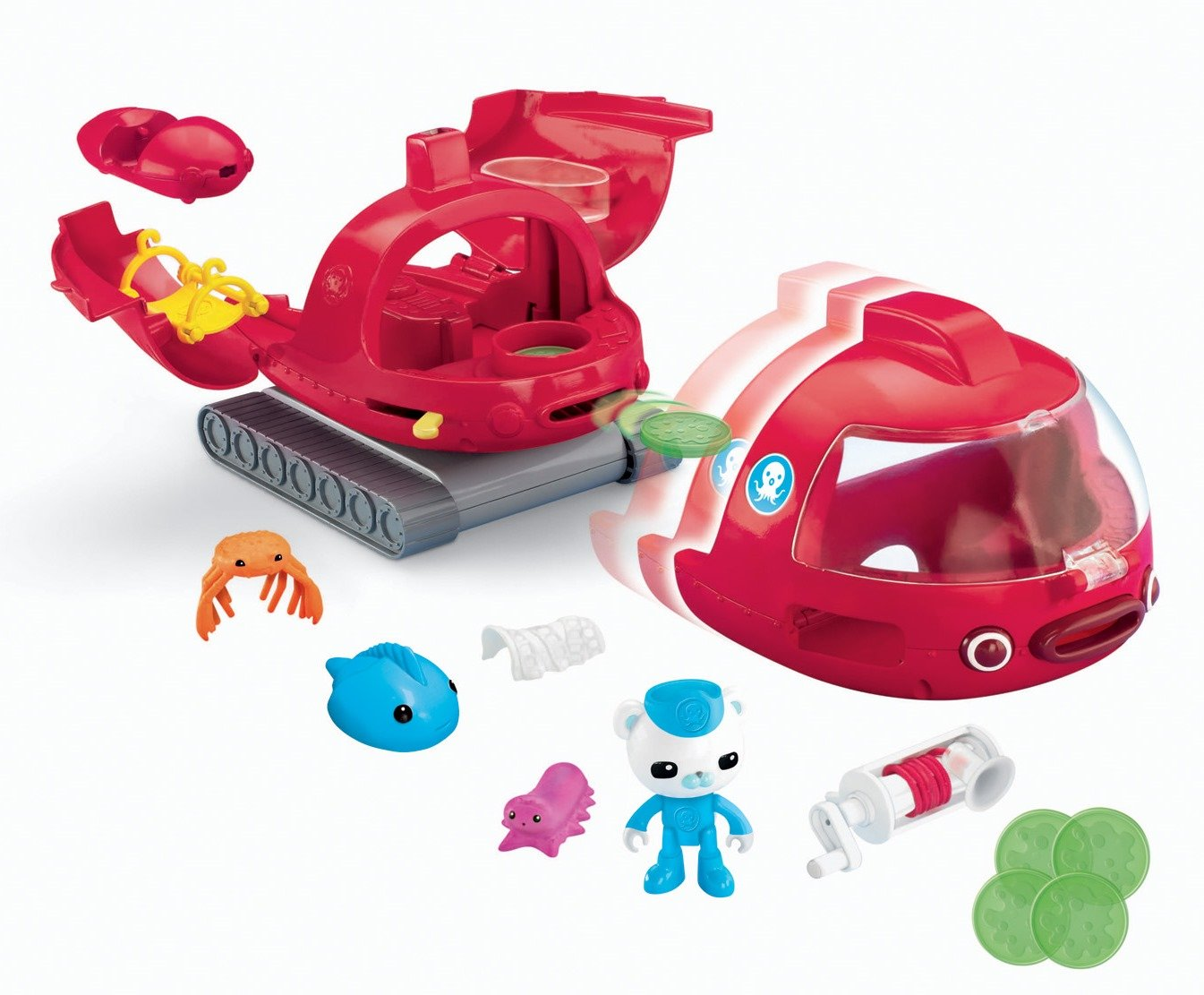 Com Fisher Octonauts Launch And Rescue Gup X Vehicle Remarkable S Octopus Coloring Page With