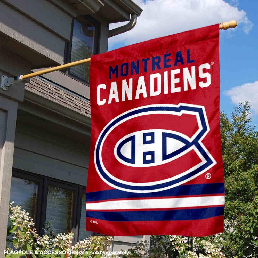 WinCraft Montreal Canadiens Double Sided Banner House Flag