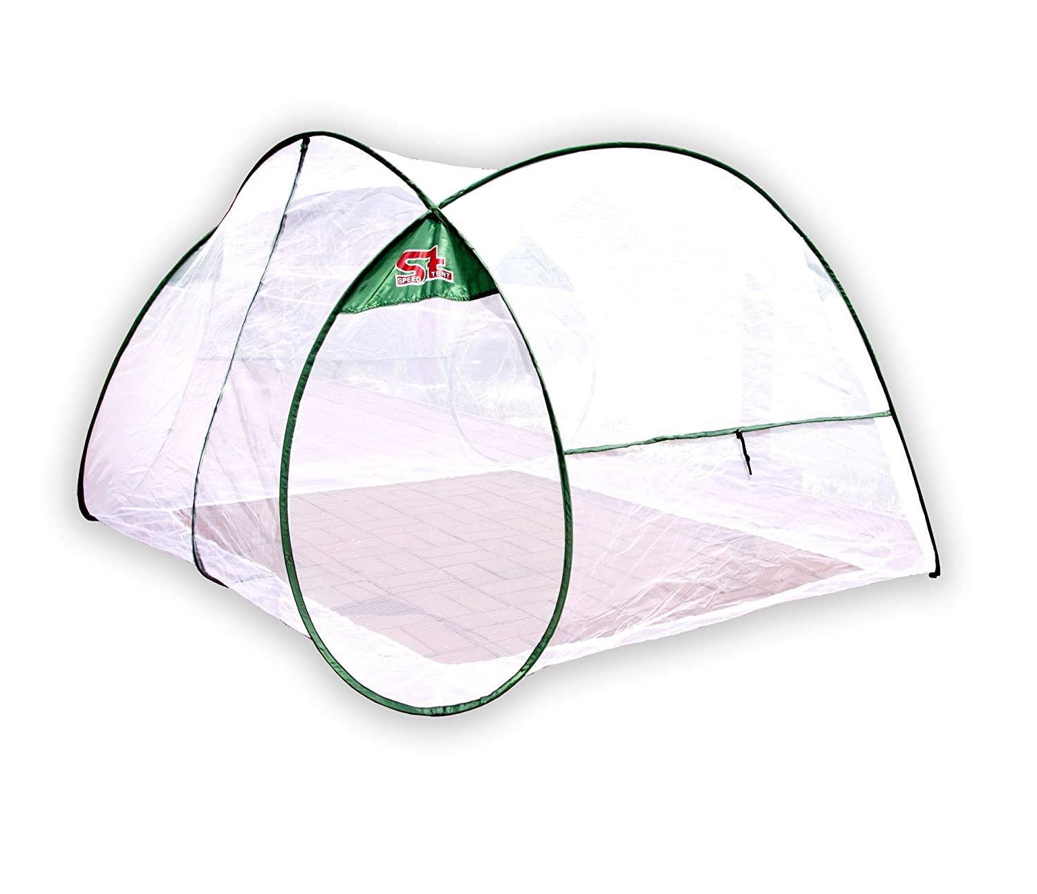 SpeedTent Portable Foldable Mosquito Net Tent Insect protection nets Anti-Bug Net 4~5 Person net tents by SpeedTent   B00IGNU7DI