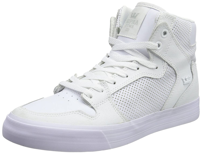 Supra Vaider LC Sneaker B008N0V59E Medium / 6.5 C/D US Women / 5 D(M) US Men White Perf Gunny Tuf