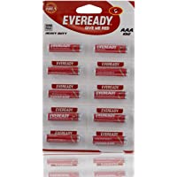 Eveready AAA Heavy Duty Batteries - 10 Pieces (Red)