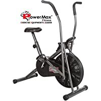 Powermax Fitness BU-204 Exercise Cycle for Weight Loss at Home | Air Bike with Moving Handles
