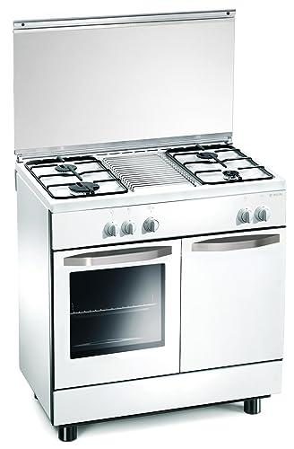 Cucina a gas 80x50x85 cm bianca 4 fuochi con forno a gas - Regal RE7252W