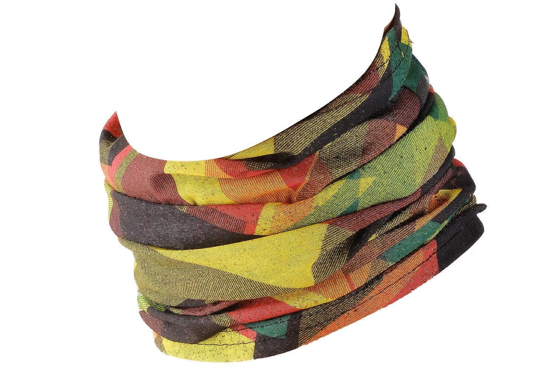 Scaldacollo Indossabile come Cuffia Hilltop Sciarpa da Uomo e Donna Foulard Sportivo Multifunzione Vari Colori
