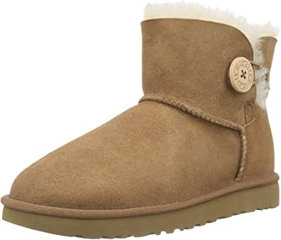 Ugg mini bailey button ii, stivali donna 1016422