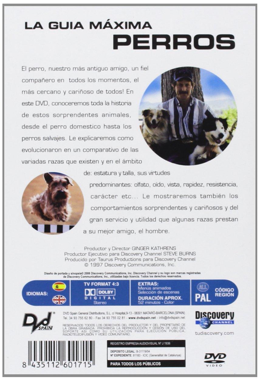 La Guía Máxima - Perros [DVD]: Amazon.es: (Sin Actores), Ginger Kathrens: Cine y Series TV