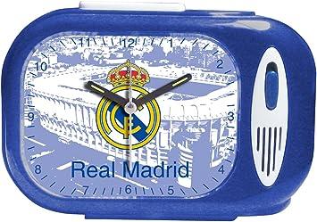 Seva Import DESP. RECT. Himno Real Madrid 706079 Despertador, Unisex, Azul, Talla Única: Amazon.es: Deportes y aire libre