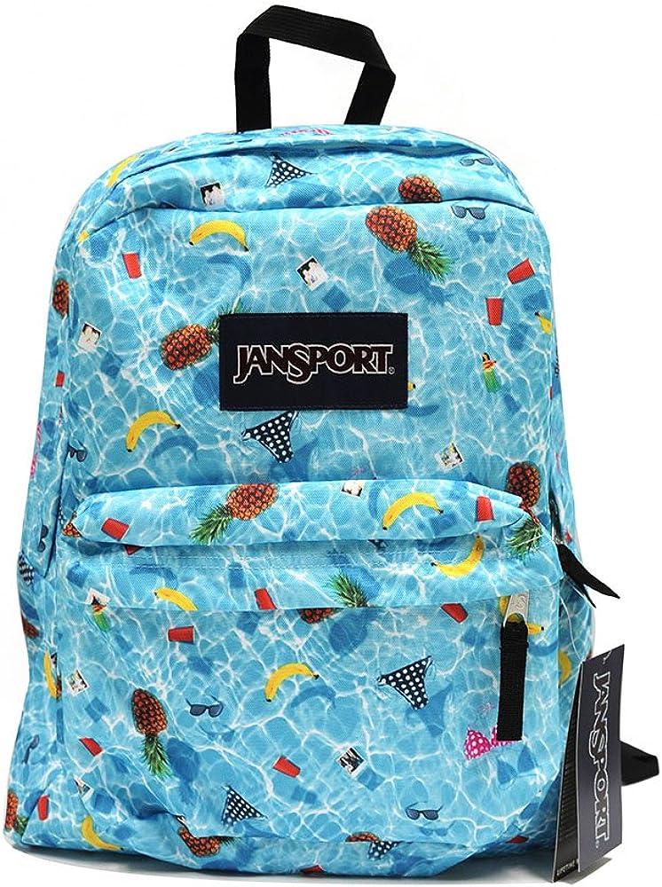 JANSPORT Classic Superbreak Backpack Multi Pool Party T5010EJ