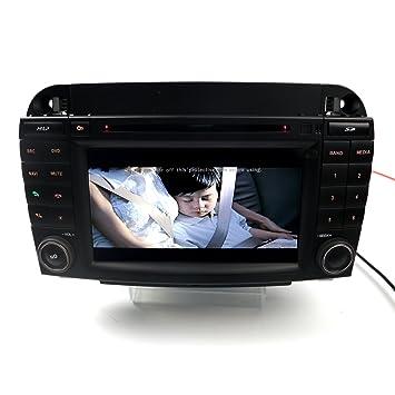 autostero Sat Nav Mercedes Benz Coche reproductor de DVD GPS Navigation Radio para Mercedes Benz W220