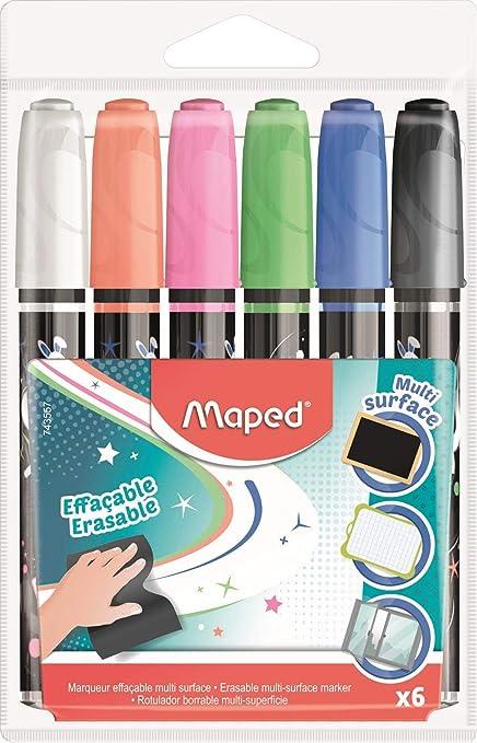 Maped 743557 - Rotuladores borrables: Amazon.es: Oficina y papelería