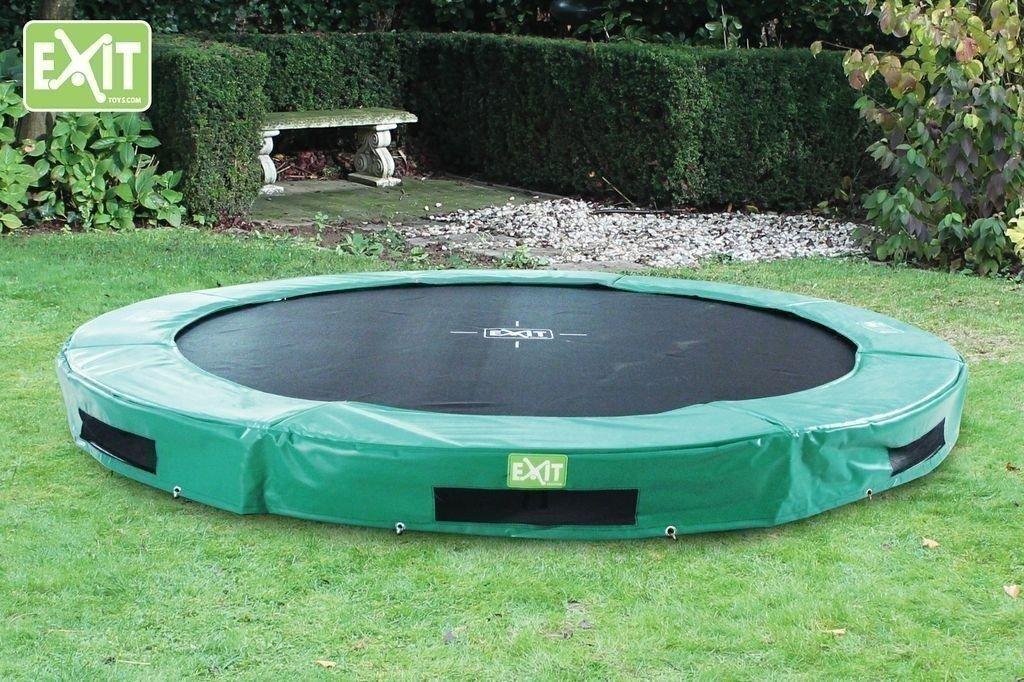 exit trampolin exit trampolin exit trampolin oval x cm. Black Bedroom Furniture Sets. Home Design Ideas