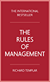 The Rules of Management (English Edition)