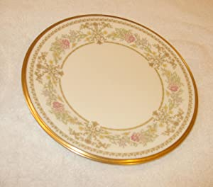 "LENOX BREAD/BUTTER 6-1/2"" CASTLE GARDEN"