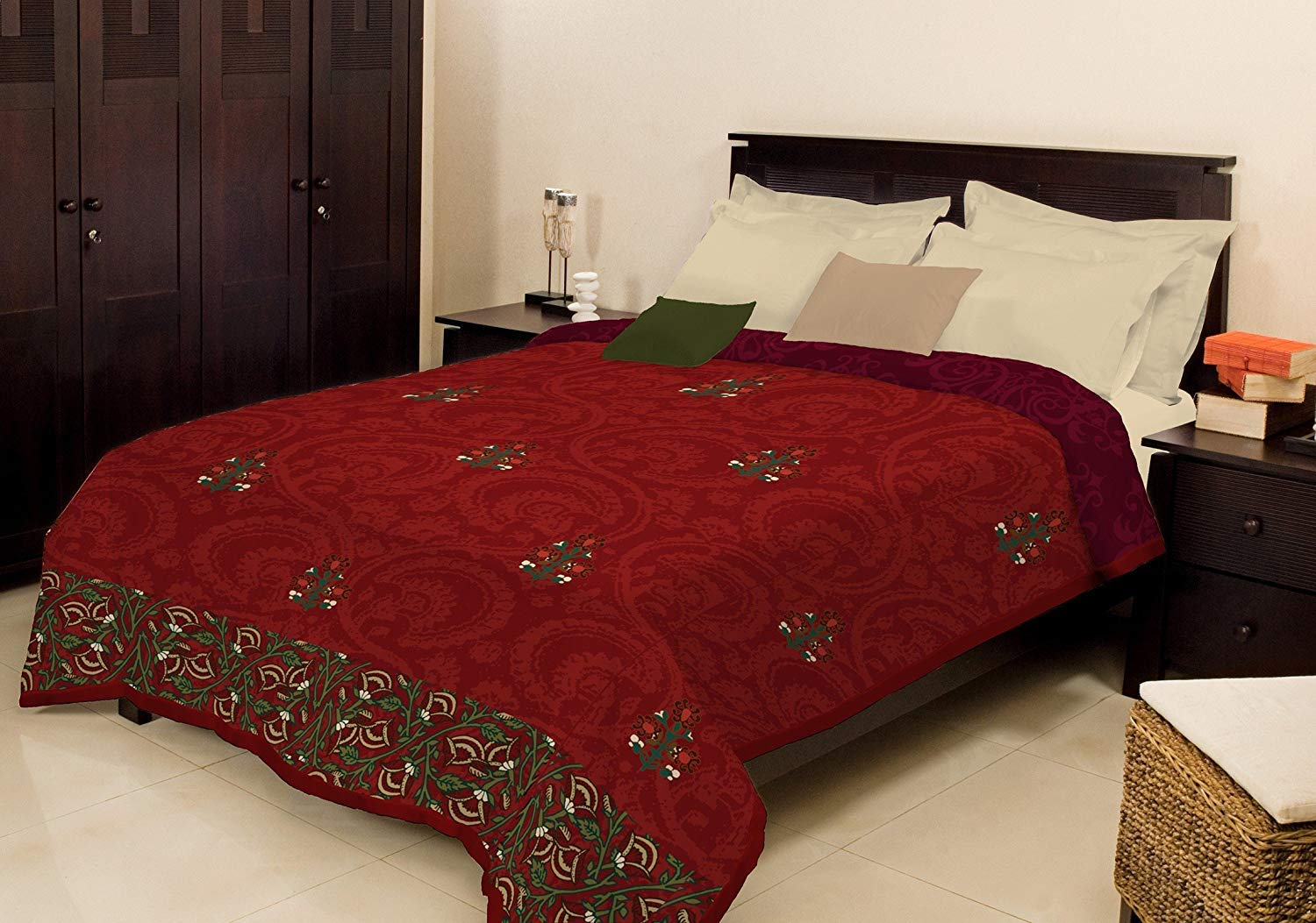 Bombay Dyeing Polyester Double Bed Winter Blanket