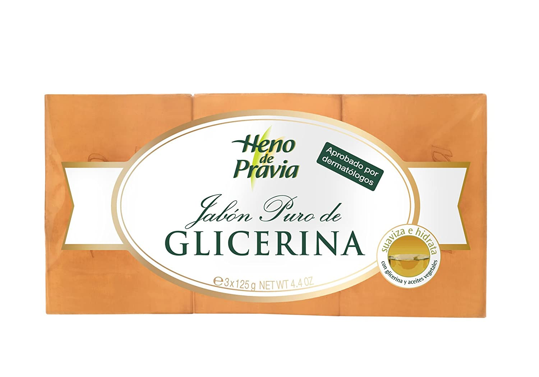 Heno De Pravia Pastilla de Jabón - Pack de 3 x 125 g - Total: 375 g: Amazon.es: Amazon Pantry