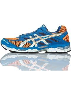 Asics Gel Cumulus 15 - Zapatillas de Running para Hombre, Color Rojo/Blanco/Amarillo, Talla 42.5: Amazon.es: Zapatos y complementos