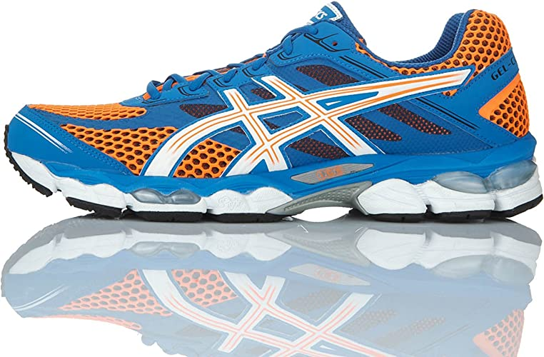 Asics Zapatillas Performance Gel-Cumulus 15 Azul/Naranja/Blanco EU 39 (US 6): Amazon.es: Zapatos y complementos