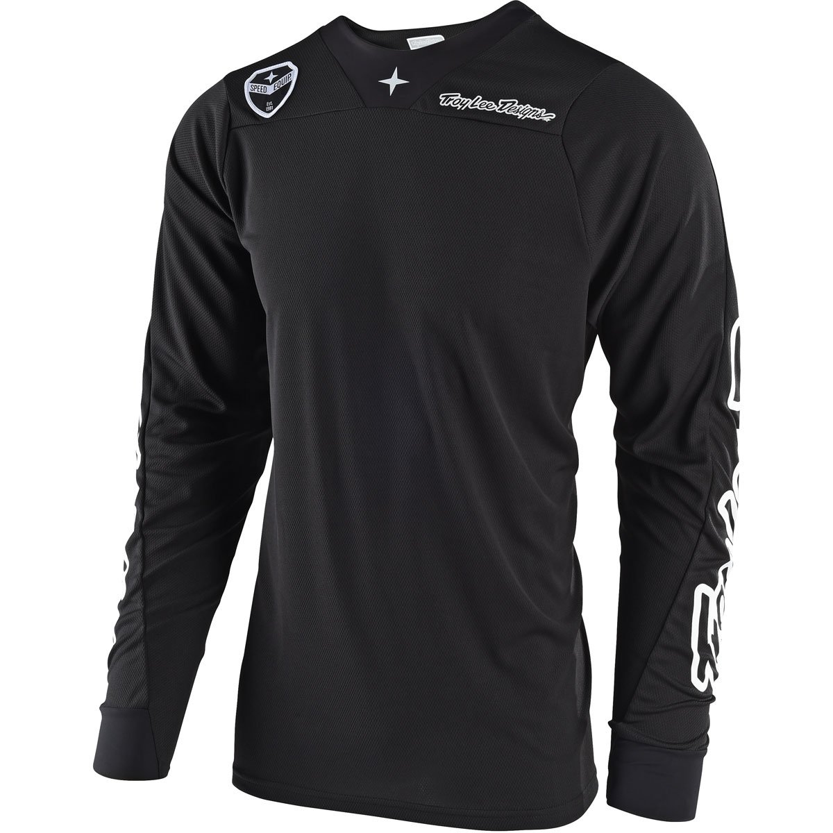 Troy Lee Designs SE Air Solo Men's Off-Road Motorcycle Jersey - Black / X-Large