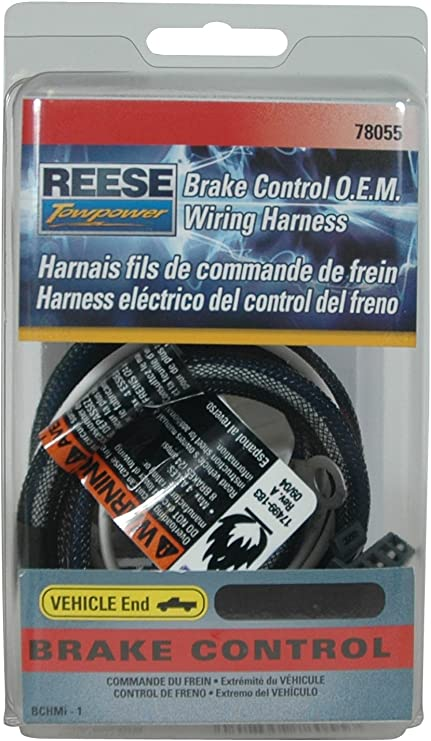 Amazon.com: Reese Towpower 78055 Brake Control Wiring Harness for Lexus/ Toyota: Automotive | Reece Wiring Harness Toyota |  | Amazon.com
