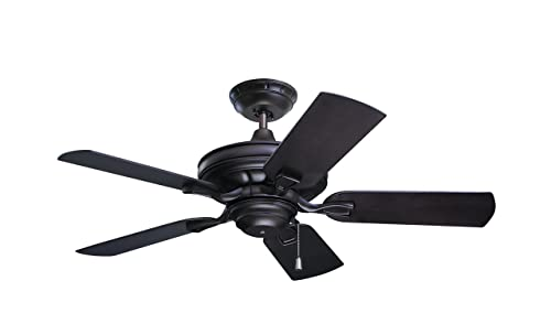 Emerson CF542ORB Veranda Indoor Outdoor Ceiling Fan, 42-Inch Blade Span, Oil Rubbed Bronze Finish with All-Weather Blades
