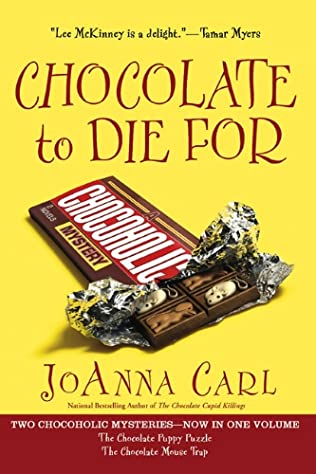book cover of Chocolate to Die for