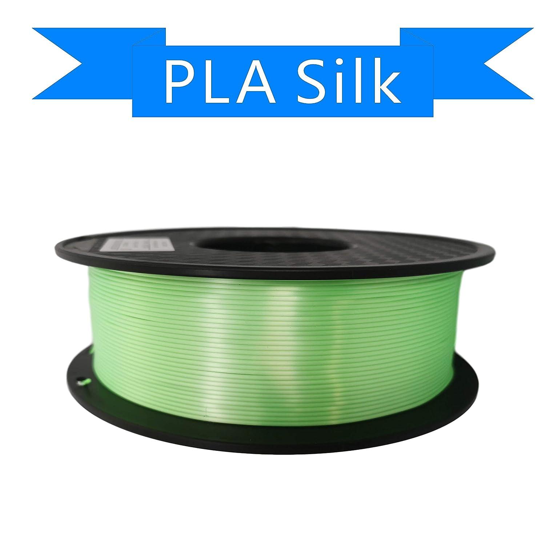Precisi/ón Dimensional +//- 0.02 mm 1kg Carrete PLA Blanco Filamento 1.75mm PLA impresora 3D filamento PLA metal color filamento PLA Filamento de seda color PLA Filamento de Impresora 3D Amarillo
