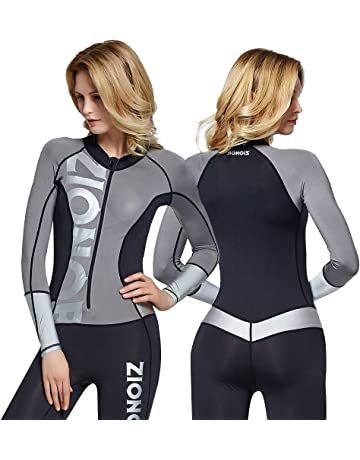 f8ecc9660e Zionor Full Body Sport Rash Guard Dive Skin Suit for Swimming Snorkeling  Diving Surfing with UV