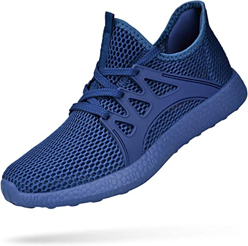 Winyoung Mens Sneakers Mesh Ultra Breathable Lightweight Running Workout Tennis Gym Shoes