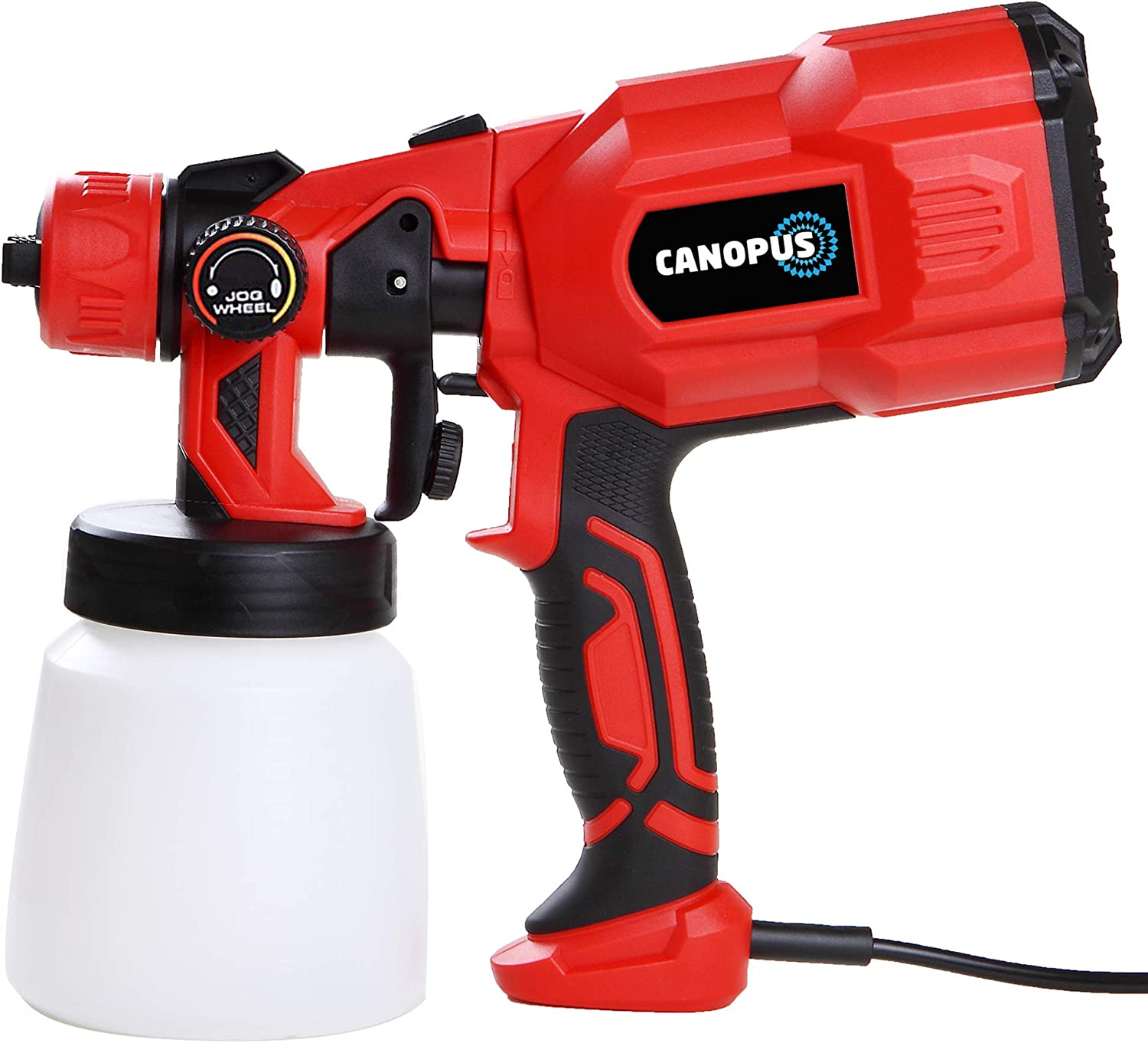 CANOPUS Paint Sprayer, Electric Airless Paint Sprayer, 550W, Portable, HVLP Type Wide Adjustable, Anti-Corrosion Sprayer, For Painting Cars, Walls, Furniture and Other DIY Projects