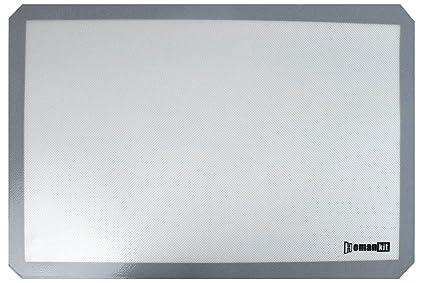 Homankit alfombrilla de silicona para horno, bandeja de ...